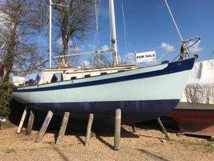 28ft Peter Duck, wooden Bermudan Ketch