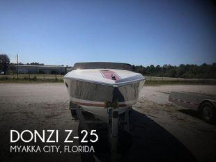 1986 Donzi Z-25