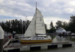 Woods 'Strider' Catamaran used for diving and surveying