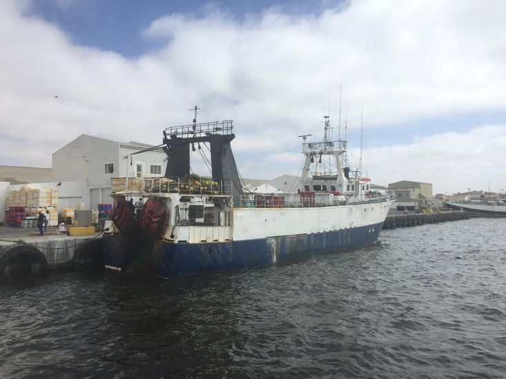 Stern Freezer Trawler