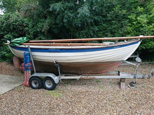 20 foot clinker sail boat
