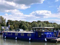 MENDIP SPIRIT 50' x 12' Dutch Barge Replica, Barras Shire 50hp
