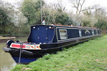 55ft Cruiser Stern Narrowboat (Under offer)