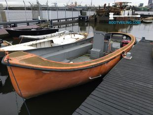 Grachtenboot Reddingssloep