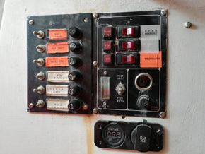 switch and fuse panel
