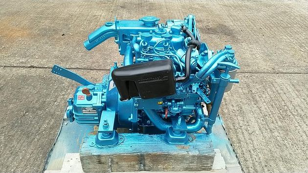 Nanni 2.50HE 10hp Marine Diesel Engine Package - Pair Available