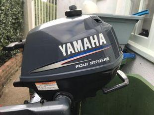 Yamaha 4 stroke 2.5hp