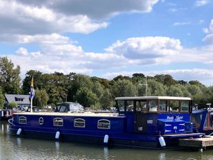 MENDIP SPIRIT 50' x 12' Dutch Barge Replica, Barras Shire 50hp