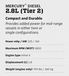 Mercury® Diesel 2.8L (Tier 2)