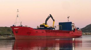 Geared Cargo Vessel / box type abt. 800 DWT, built 1981 in Denmark