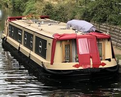 50 x 10 Viking Canal Boat