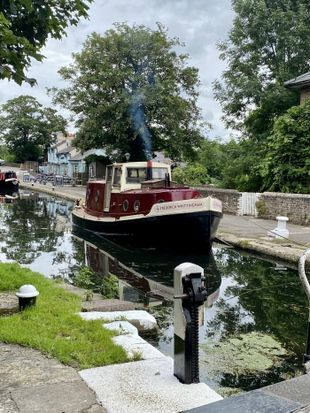 Rare Tug Launch - Frederick Whittingham