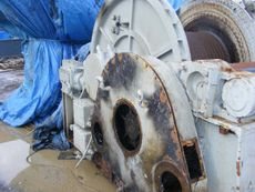 Used Almon Johnson Single Drum 100,000 lb Line Pull Winch