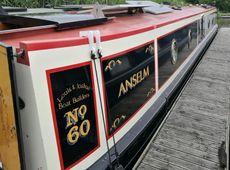 """Anselm"", a beautiful 57ft narrowboat"