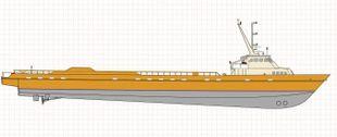 201ft. Fast Supply Vessel