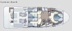 Azimut 47 Lower Deck
