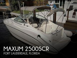 2002 Maxum 2500SCR