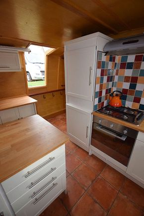 Galley port to starboard
