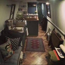 40ft Cosy Narrow Houseboat