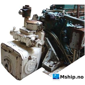 Detroit 6-71 Fitted with  hydraulic pump