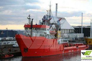 60m / 76ts BP AHTS Vessel for Sale / #852G