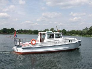 ex Police boat, very well maintained!