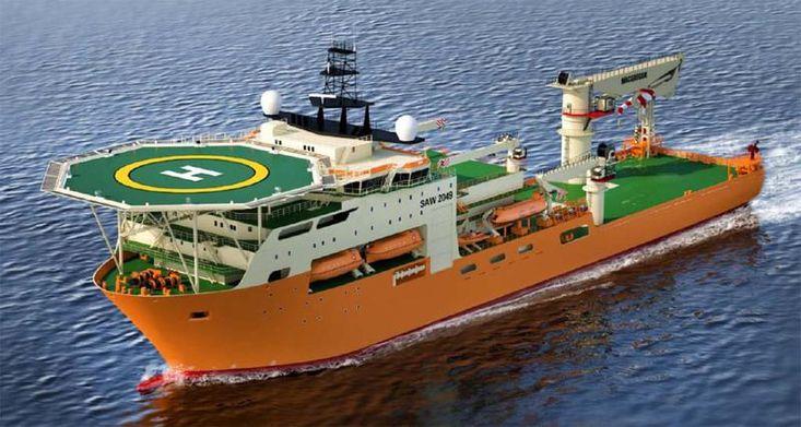 145mtr MPP DP3 Dive Support Vessel