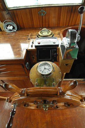 Helmsman equipment