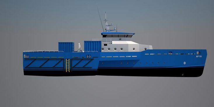 MP 150 Crew Transfer Vessel & OSV
