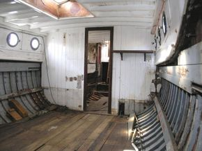 Classic wooden motor yacht Traditional one off build  - Interior