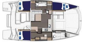 Cabin Layout Leopard 43 PC