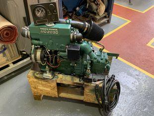 Volvo penta 30 hp diesel engine