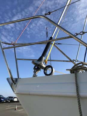 New Facnor furling gear and ring for bowsprit