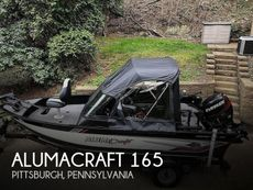 2020 Alumacraft COMPETITOR 165 SPORT