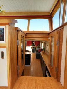 Stunning Newly Completed Dutch Barge