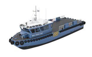 MOC Shipyards ANZAC 2407 Crew Utility Boat