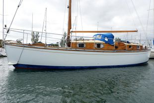 32ft. HILLYARD NINE TONNER BERMUDIAN SLOOP