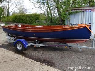 Classic Motor Launch & Trailer - topsail.co.uk