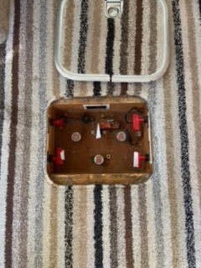 Isolator panel in floor