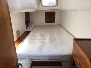 Aft cabin, double, port