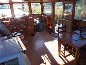 Dutch Barge 23m  - Coachroof/Wheelhouse