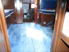 Cockpit Flooring Looking Aft
