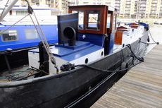 1920's Dutch Barge Houseboat