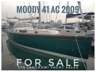 Moody 41 AC for sale in Rebak Marina, Langkawi.