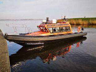 10 mtr. Inboard Diesel Waterjet Cabin RIB for sale or charter
